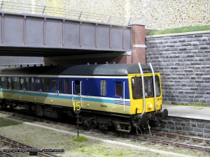 Class 122 - note the exhaust fumes!