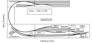 Windsor Track Plan