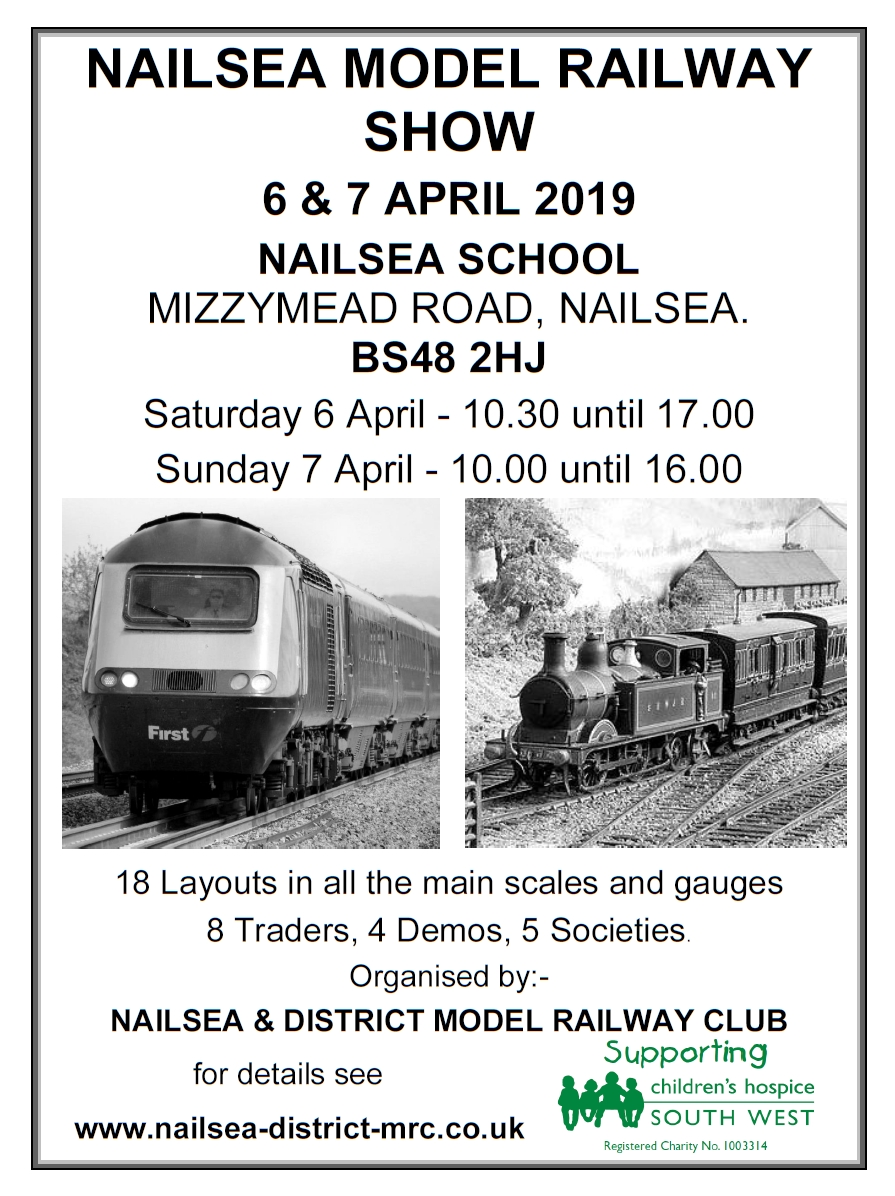 Update Archive | Nailsea and District Model Railway Club